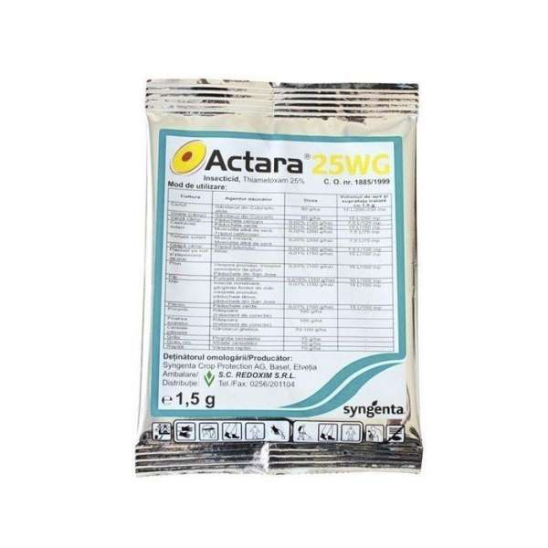 Insecticid ACTARA 25 WG  1.5 gr