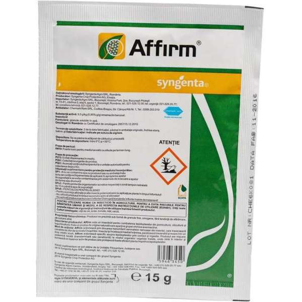 Insecticid AFFIRM 15 GR