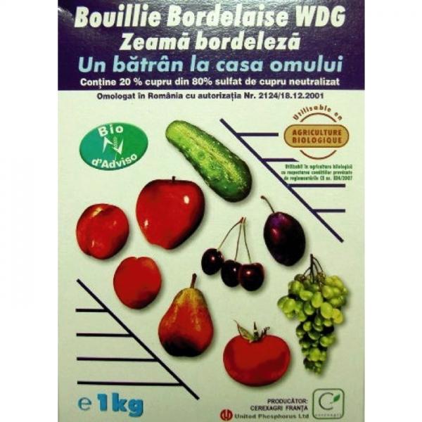 Fungicid Boiulle bordelaise WDG  1kg