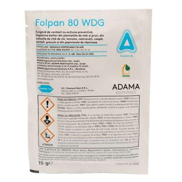Fungicid Folpan 80 WDG 15GR