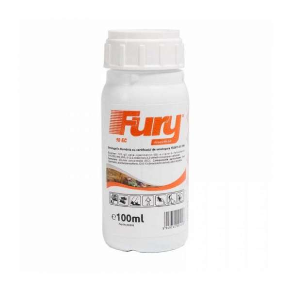 Insecticid FURY 10 EC 100 ML