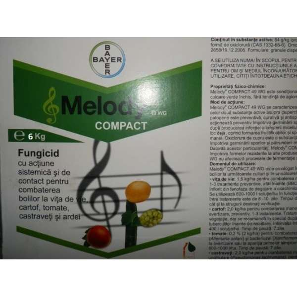 Fungicid Melody compact 49 wg  500 gr